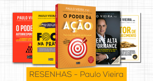 Resenhas dos livros do Paulo Vieira