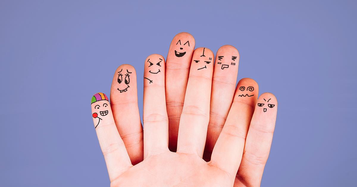 Como as emoções se refletem no corpo humano