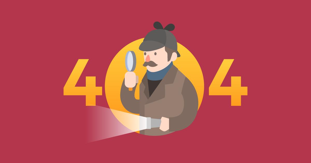 Página de Erro 404: como usá-la para aumentar a retenção e conversão no site