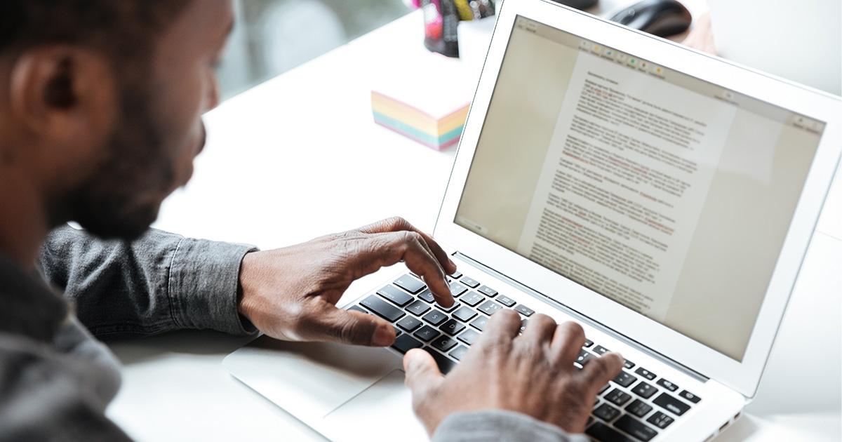 3 técnicas de escrita utilizadas para produzir os textos de um site